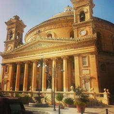 Mosta Cathedral, Mosta, Malta♡