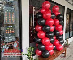 Korean Bbq Grill, Balloon Pillars, Riverside Drive, 1st Anniversary, Balloon Decorations, Balloons, Store, Party, Image
