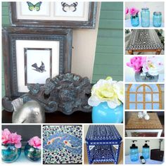 My best DIY projects via my new irresistible home page, #DIYprojects