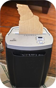 Use a paper shredder to make compost, worm bedding, and mulch for your garden