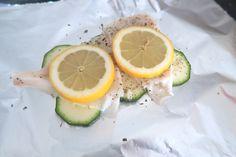 Vispakketjes met citroen