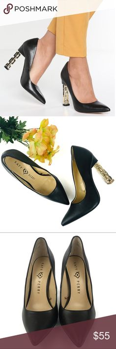 f1ac2df09f2 Katy Perry The Suzzie Black Pointed Toe Pumps