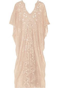 Miguelina Rachel crocheted cotton-lace kaftan | THE OUTNET