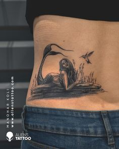 Mermaids are known to be the mythical creatures found deep under the sea. They are a symbol of sexiness and freedom. Beautiful Mermaid tattoo for women on lower back by Manohar Koli at Aliens Tattoo India. If you wish to get such tattoo then don't forget to follow us, like this pin and visit our website. Alien Tattoo, Beautiful Mermaid, Realism Tattoo, Neo Traditional Tattoo, Couple Tattoos, Animal Tattoos, Tattoo You, Color Tattoo, Mythical Creatures