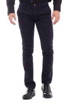 368074f0be2 Ανδρικό Chino Παντελόνι.Υφασμάτινο παντελόνι με τσέπες, κλείσιμο με κουμπί  και φερμουάρ και στενή εφαρμογή.