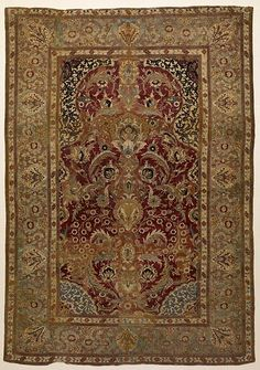 Turkish - Prayer Rug with Floral and Ornamental Designs - early 16th century