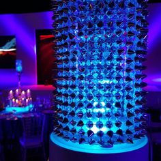 #leddecor #ledlighting #ledlights #tabledecorideas #tabledecor #weddingdecor #tablelightideas Led Centerpieces, Floral Arrangements, Glow, Christmas Tree, Vase, Holiday Decor, Projects, Home Decor, Teal Christmas Tree