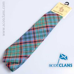 Nicholson Hunting Ancient Tartan Tie from ScotClans