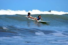 Keeping a close eye on our clients! #costaricasurf #costarica #goodtimes  sunsetsurfdominical.com