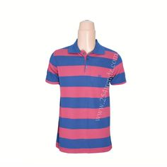 Red and Navy Blue Polo T-Shirt at Kshs.2500