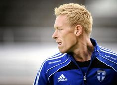 """Mikael Forssell. HJK, Hannover 96, Chelsea, Birmingham City, Leeds. Has played over 80 matches for the Finland National Team """"Huuhkajat"""" (The Big Owls). #respect"""