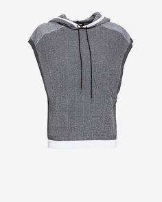 rag & bone/JEAN Sleeveless Hoodie: Sky wears this is latest Agents of S.H.I.E.L.D.