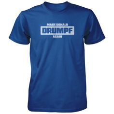 Make america great again or Donald, make him great again. All of our incredibly soft unisex adult shirts are made of 100% combed cotton. The sport grey t-shirt is made of 90% combed cotton and 10% polyester. Every t-shirt is custom made within 2-3 business days of completed payment.