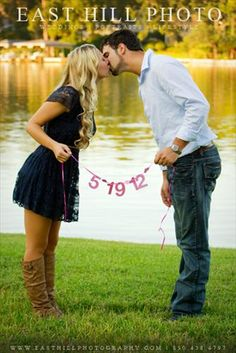 Love! Cute save the date idea!