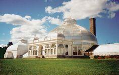 Buffalo & Erie County Botanical Gardens designed by Lord & Burnham