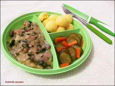 Ciulama de ciuperci Meat, Chicken, Food, Essen, Meals, Yemek, Eten, Cubs