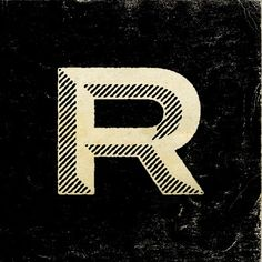 An extended, grotesk engravers R..no?