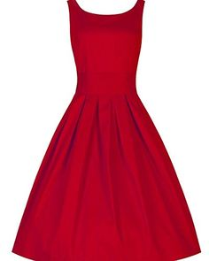Vintage années 50 s Style Audrey HepburnRockabilly Swing, Robe de ...
