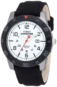 timex expedition rugged metal field watch black men s wrist watches timex mens t498639j expedition canvas strap rugged core analog watch >>