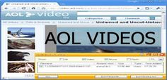 The Aol videos feature can be found on the AOL platform. AOL has been a leader in online videos, they give you the best video content. Computer Service, Time Warner, Online S, Video Source, Barclay Premier League, Video Channel, New Clip, View Video, Download Video