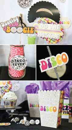 33 Best Disco party decorations images in 2019   Disco party