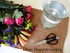 Basic Flower Arranging |  Inanorchard