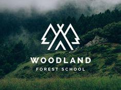 Woodland Forest School Logo