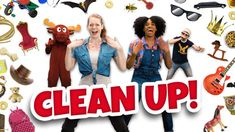 Get moving with Clean Up! and of engaging dance-alongs, yoga videos, and mindfulness activities! All free on GoNoodle! Mindfulness Activities, Kids Learning Activities, Free Activities, Yoga Videos, Dance Videos, Clean Up Song, 100s Day, Community Helpers, Brain Breaks
