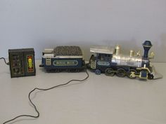 Vintage Toy Royal Blue Great Western Train Engine and Tender #GreatWestern