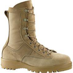 790 ST Belleville Men's Combat & Flight Safety Boots - Tan Belleville Boots, Tactical Wear, Sneaker Boots, Combat Boots, Footwear, Mens Fashion, Safety, Sneakers, How To Wear