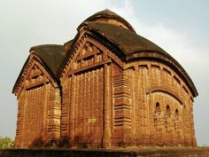 Terracotta-Temples of Bishnupur located in Bankura district in West Bengal.