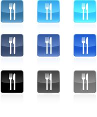 Fork and knife food royalty free vector icon set vector art illustration Free Vector Art, Vector Icons, Knife Logo, Financial Charts, Color Vector, Icon Set, Royalty, Concept, Illustrations