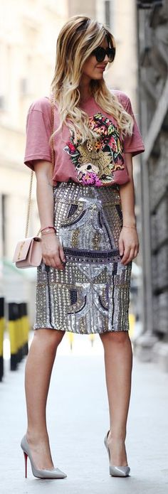 It Skirt Casual Chic Streetstyle by Zorannah.