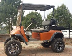 electric lifted golf cart