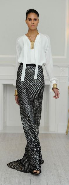 Juan Carlos Obando Fall 2013 Ready-to-Wear