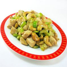 One Perfect Bite: Chinese Chicken with Cashews