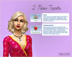 2 new traits at simelicious The Sims 4 Pc, Sims 4 Mm Cc, Sims Four, Sims 4 Game Mods, Sims 4 Mods, Sims Traits, Sims 4 Characters, Sims 4 Dresses, Sims 4 Gameplay