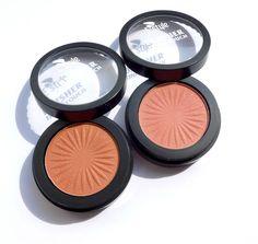 Tvářenky E style Finish Touch Blusher v odstínech Apricot (č. 04) a Peach (č. 01)