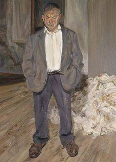 Bruce Bernard - Lucian Freud, 1992