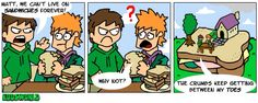This pun is just so CHEESY. heh I stink (C) Edd Gould