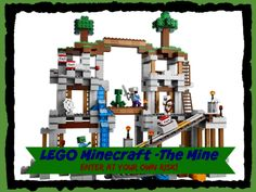 Minecraft fanatics, here's your chance to build your very own creation with the all new LEGO Minecraft Creative Adventure The Mine. This 922 assorted LEGO Lego Minecraft, Mine Minecraft, Minecraft Video Games, Lego Lego, Lego Sets For Boys, Best Lego Sets, Toys For Boys, Kids Toys, Lego Playsets