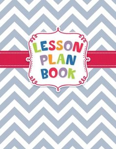 This chevron Lesson Plan eBook will keep you organized and always ready for action. You can then print as few or as many pages as you need!
