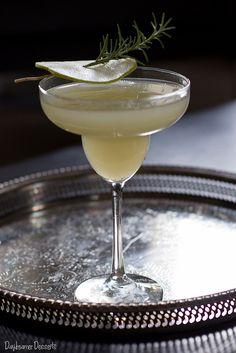 Rosemary Pear Margarita by daydreamerdesserts #Cocktail #Margarita #Pear #Rosemary