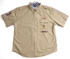 Tommy Hilfiger Outdoors XL Khaki SS Shirt | eBay