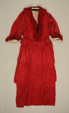 Afternoon Dress, Austrian, 1915 / The Metropolitan Museum of Art