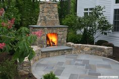 New Jersey Outdoor Fireplaces and Fire Pits Page 2, Outdoor Fireplaces, New Jersey Landscaping, NJ