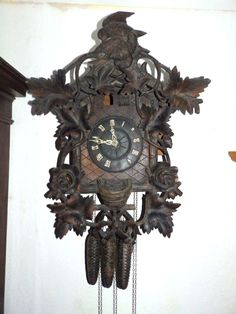 OLD CUCKOO QUAIL CLOCK 1880 - 1900 FOR PARTS OR FOR A RESTAURATION | eBay