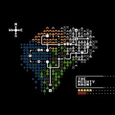 Pip Boy, Pixel Characters, Pixel Art Games, Game Character Design, Game Concept, Map Design, Cartography, Game Art, Overlays