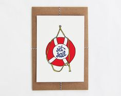 scout's honor co. / Set Sail Print