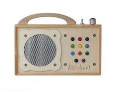 Das können wir empfehlen: Hörbert aus Holz spielt jetzt die Musik im Kinderzimmer